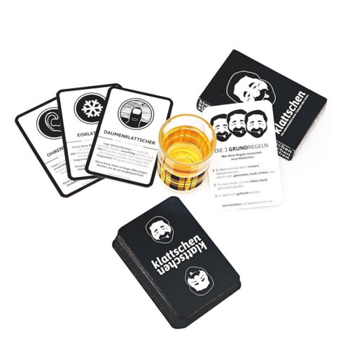 Kartenset Klattschen Trinkspiel