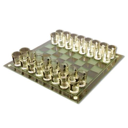 Kurze mit Schachbrett