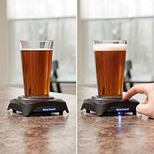 Glas Bierschäumer