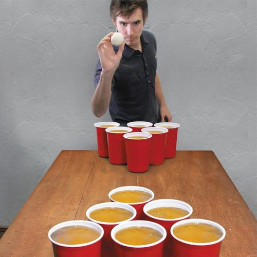 Riesen Bier Pong